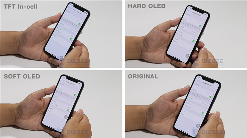IPHONE X AFTERMARKET SCREENS COMPARISON TEST OF FIXTOR